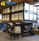 El coche hidráulico de Marco Scissor el vector de elevación para el aparcamiento del hotel