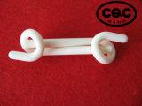 Guide de câblage en céramique d'alumine de tresse de textile