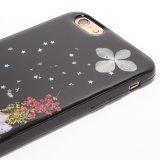 Caja de epoxy de los nuevos accesorios del teléfono móvil del modelo de flor para Oppo R11
