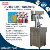 Dfj160 Eléctrico Semi-automático máquina de sellado de latas de té
