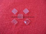 Los pequeños cuadrados tipo de lente óptica de la placa de cristal de cuarzo.