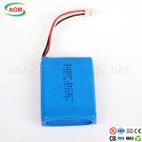 Batería del polímero de la batería 684057 1500mAh 7.4V de Rechargerable