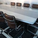 Conception personnalisée marbre artificiel Table de la Conférence de pierre