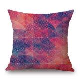 多彩で幾何学的な綿の詰まらないでリネンデジタルによって印刷されるクッションカバー(35C0153)