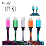 USB 2.0 High Speed нейлона 3FT Braided мужчина к микро- Sync данным по b и кабель заряжателя для Samsung/более Android приспособлений