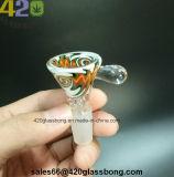 Recipientes de cristal de gama alta de Gaza para fumar los tubos de agua y vasos de precipitados de 14mm/18mm conjunto macho/hembra