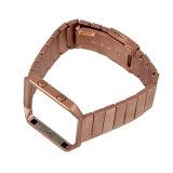 Cinghia astuta del rimontaggio del cinturino del metallo dell'acciaio inossidabile per il cinturino della fiammata di Fitbit