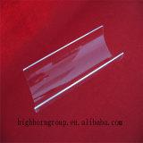 Feuille faite sur commande en verre de quartz d'arc