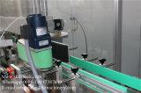 Delante de vuelta la botella de aceite esencial de la máquina de etiquetado etiqueta etiqueta