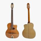 中国のカスタム純木のジプシーのギター安いPriece