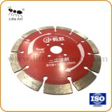 158mm avec lame de scie de coupe de granit de couleur rouge
