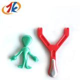 Promotie Plastic Katapult met het Vreemde Kleverige Stuk speelgoed van de Lanceerinrichting TPR voor Jonge geitjes