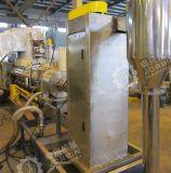 Отходы пленки PE BOPP гранулят машины с Horizontatol Water-Ring горячей поверхности кристалла зернение путь