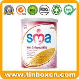 barattolo di latta del metallo di latte in polvere 900g con l'estremità aperta facile