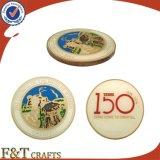 Изготовленный на заказ монетки печатание промотирования монетки возможности с эпоксидной смолой