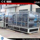 날씨 저항 플라스틱 Colonial PVC 기와 압출기 기계