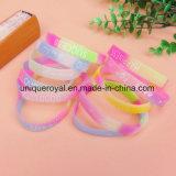 Nuovi Wristbands coreani del silicone di Noctilucence di prezzi di fabbrica di disegno