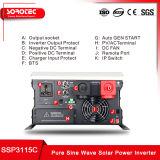 24V 230V Omschakelaar 3000W met lage frekwentie met de Lader van de Batterij