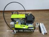 Compresor de aire de /Sbca del equipo de submarinismo portable eléctrico 300bar de la gasolina que se zambulle