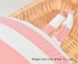 Viajar 100% algodón a rayas U - Cuello tipo almohada / lenta de la memoria de rebote /proveedor chino