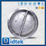 Задерживающий клапан вафли подъема нержавеющей стали испытания CF8m Didtek 100%