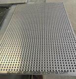 Placa metálica perfurada perfuradas de alumínio