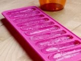 10PCS Gemakkelijke de Vorm van de Stok van het ijs verwijdert het Zachte Dienblad van het Ijs van het Silicone