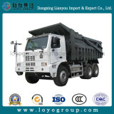 Utiliza la minería HOWO camiones volquete camión de 50 Ton.