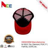 Formapplique-Stickerei Soem-Breathable 5 Panel-Baseball-Fernlastfahrer-Hut