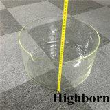 Tamaño Personalizado transparente vaso de vidrio Pyrex