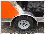 جديدة [هوت دوغ] شطيرة لحميّة يقلي [تكس] [&مور] [ستينلسّ ستيل] كلّ في أحد طعام عربة