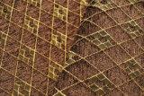 브라운 격자 무늬 셔닐 실 소파 피복 (FTH31180B)
