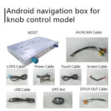 マツダ2 Demio Mzdのためのアンドロイド6.0 GPSの運行ボックスはビデオインターフェイスノブ制御Wazeを接続する