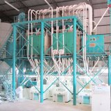 linha de produção moinho da farinha da máquina da fábrica de moagem do trigo 80t de farinha