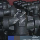 API602 ha serrato la valvola di globo d'acciaio forgiata cofano con Bw/Sw/NPT