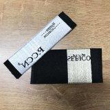 Colete Sweatpants personalizados de alta densidade do tecido de vestuário etiqueta rótulo