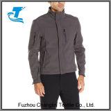 Novo design dos homens encapuzados Outdoorwear Softshell Velo