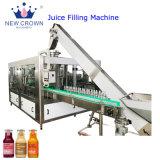 La alta calidad en color naranja/Apple/Piña/bebidas de jugo de caña de azúcar en la máquina de llenado automático monobloque Botella de vidrio Máquina de Llenado