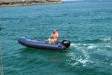 Barcos infláveis da parte inferior lisa do barco do reforço de Liya 2.4-5.2m para a venda