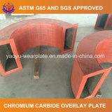 セメントのための耐久力のある鋼管の耐摩耗加工