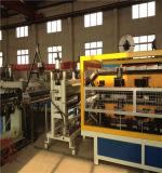 El PVC+PMMA Azulejos Asa de plástico, máquina de producción de hoja de techado de la máquina