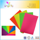 Papel fluorescente colorido ambiental