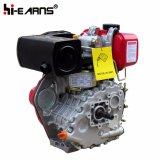 motor diesel 4HP con el color rojo del eje de la cuerda de rosca (HR170F)