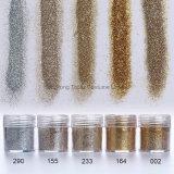 1box 10ml Champagne Gold Silver Nail Art glitter ongle de feuilles en poudre conseils mixtes de décoration brille clou (NR-46)