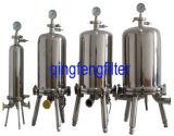 304 e 316 do alojamento do filtro de aço inoxidável para filtração de líquidos