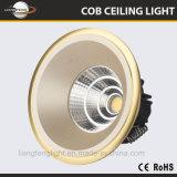 Fabricante de China 2018 Nuevo Modelo de 2 años de garantía atención 7W Downlight LED COB