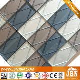 Modèle neuf ! L'effet 3D Maille-A monté la mosaïque de bloc en verre (G848013)
