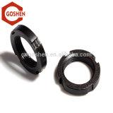 Haute qualité d'écrous de ronde fendue oxyde noir