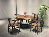 クルミの純木のコーヒーテーブル、椅子のダイニングテーブル
