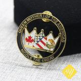Nome da polícia de alta qualidade personalizada carro esmalte lapela emblema do pino de metal